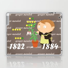 Gregor Mendel Laptop & iPad Skin