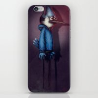 regular show iPhone & iPod Skins featuring Mordecai from Regular Show by Chuck Jackson