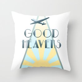 Good Heavens! Throw Pillow