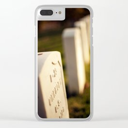 Forest Hill 4 Clear iPhone Case