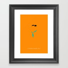 The Flintstones Framed Art Print