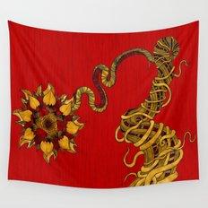Lotus Flower Wall Tapestry