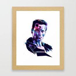 Arnold Schwarzenegger: BAD ACTORS Framed Art Print