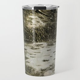 Birch Bark I Travel Mug