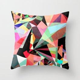 Colorflash 6 Throw Pillow
