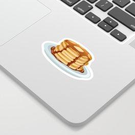 Pancakes & Dots Pattern Sticker