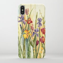 Spring Medley Flowers iPhone Case