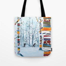 Nordic Love Tote Bag