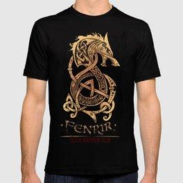 Fenrir: The Monster Wolf of Norse Mythology T-shirt