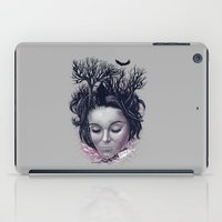 laura palmer iPad Cases featuring Laura by Jorge Garza