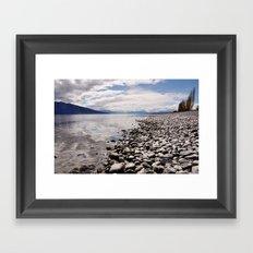 Lake Te Anau Framed Art Print