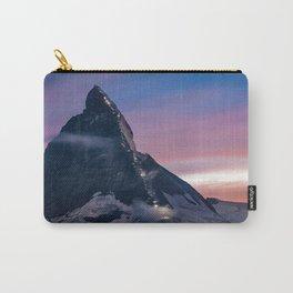 Matterhorn, Switzerland #society6 #decor #buyart Carry-All Pouch