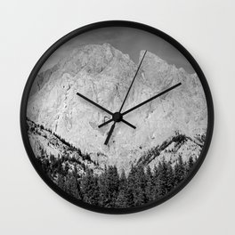 Imposing Ridge Wall Clock