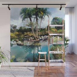 Flamingo Lagoon Wall Mural