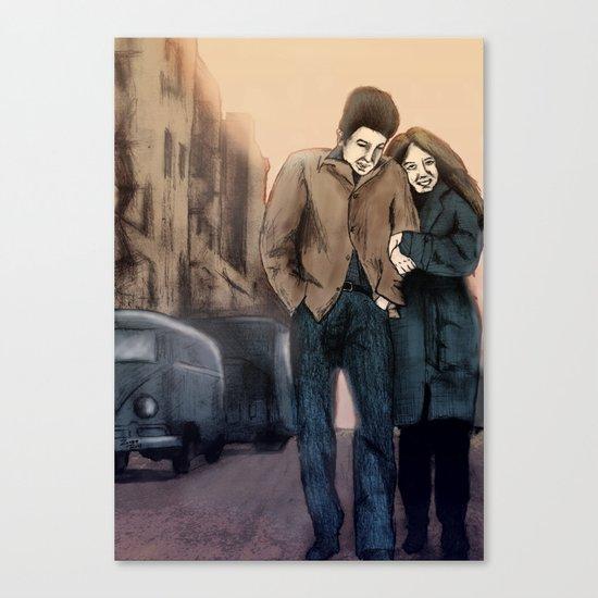 Freewheelin' Canvas Print