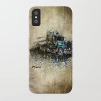 truck iPhone & iPod Cases featuring Truck by Svetlana Sewell