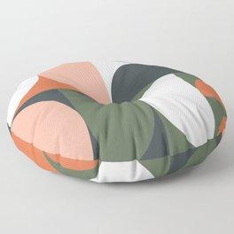 Mid Century Geometric 15 Floor Pillow