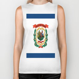 flag west virginia,america,us,south,Mountain, Virginian,Charleston,Huntington,Morgantown,Parkersburg Biker Tank