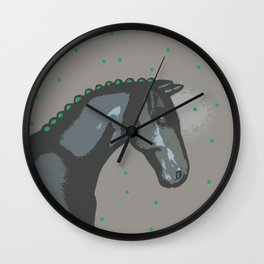 Lucky Horse Wall Clock