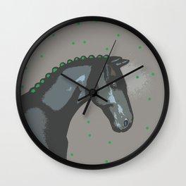 Lucky Horse Wall Clock
