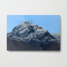 Mount Cotacachi in the Andes Metal Print