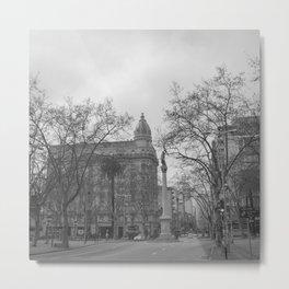 Plaza Cagancha - Montevideo Metal Print
