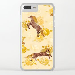 Untamed Beauty Clear iPhone Case