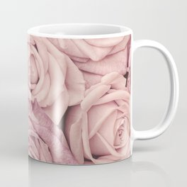 Some People Grumble - Pink Rose Pattern - Roses Coffee Mug