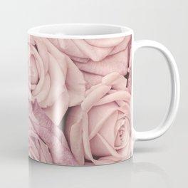 Some People Grumble - Pink Rose Pattern - Roses Coffee Mug