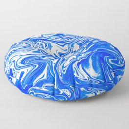 Marbled XX Floor Pillow