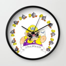 Wario Wall Clock