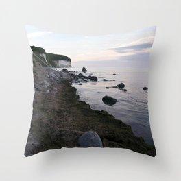 Jasmund Bay - Sunset - Isle Ruegen Throw Pillow