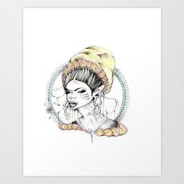 F R I D A Art Print