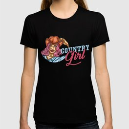 Awesome Westerner Country Girl Farmer Cowgirl Equestrian T-shirt
