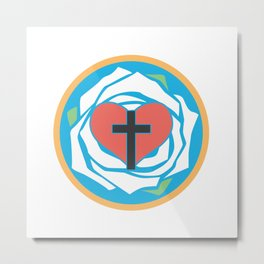 Martin Luther's Seal  Metal Print