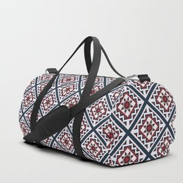 Quilted Winter Duffle Bag