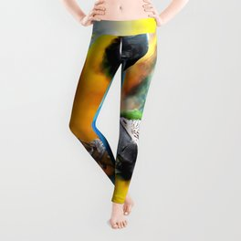 Macaw friends Leggings