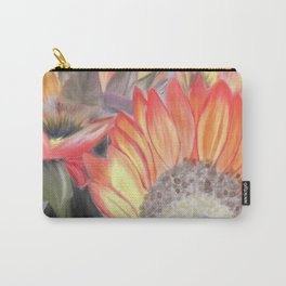 Fall Sunflowers Carry-All Pouch
