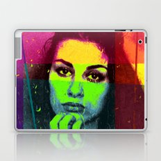 Abstract #360 Pensive Beauty Laptop & iPad Skin