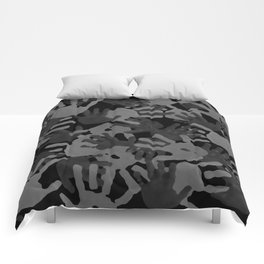 evidence v2: nite camo Comforters