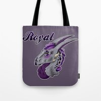 royal Tote Bags featuring Royal by dewking