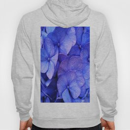Hydrangea Dark flower pattern Hoody