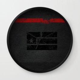 Art is Resistance Flag Wall Clock
