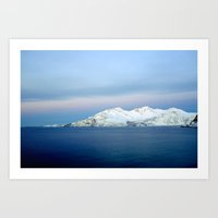 Norwegian coast 2 Art Print