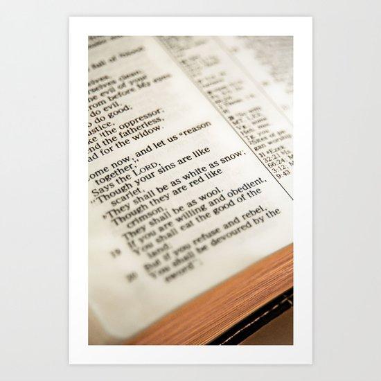 The Word! Art Print