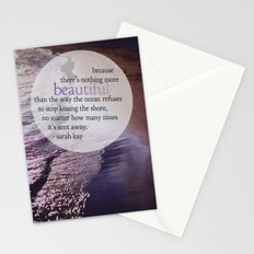 the ocean. Stationery Cards