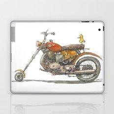 Birdie's Bike Laptop & iPad Skin