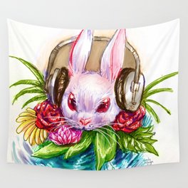 Rabbit Song Wall Tapestry