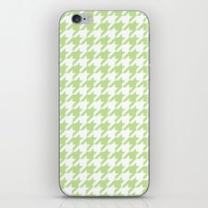Green Houndstooth Pattern iPhone & iPod Skin