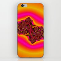 tequila iPhone & iPod Skins featuring Tequila Sunrise by Christy Leigh